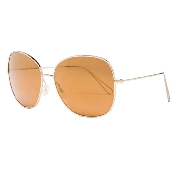 cebd310397 Oliver Peoples Isabel Marant Daria Sunglasses Gold